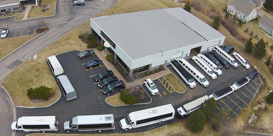 huge fleet of rochester limousine transportation